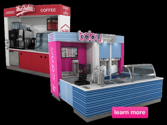 TCBY-Kiosk